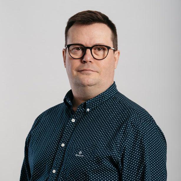 Tuotanto- ja logistiikkapäällikkö Juha Purokivi